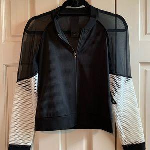 Heather bomber jacket